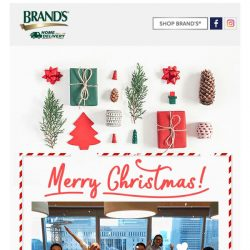 [Brand's] ❄Merry Christmas!❄This one goes out to all of you who made 2017 possible!