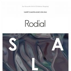 [RODIAL] SALE - Up to 50% Off