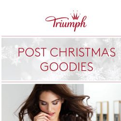 [Triumph] Christmas is over, but our SALE is not!
