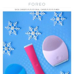 [Foreo] New Year, New Beauty Routine - 34% Off!