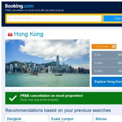 [Booking.com] Prices in Hong Kong dropped again – act now and save more!
