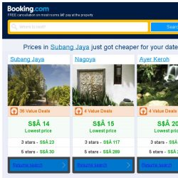 [Booking.com] Prices in Subang Jaya are dropping for your dates!