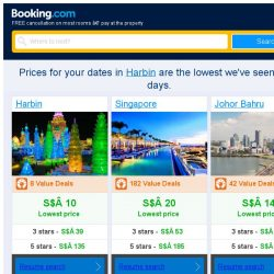 [Booking.com] Prices in Harbin dropped again – act now and save more!