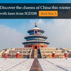 Singapore Airlines: Experience Spectacular Winter Scenery in China with Fare Deals from SGD288!