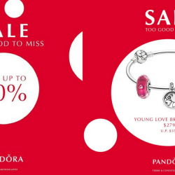 Pandora: Winter Sale with Up to 50% OFF Selected Items
