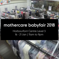 Mothercare: Annual Baby Fair 2018 with Massive Discounts on Over 60,000 Baby Products