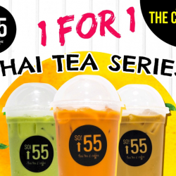 Soi 55: 1-for-1 Thai Drinks Series at The Cathay & Ang Mo Kio Outlets