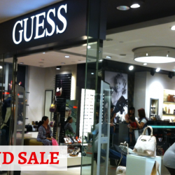 GUESS Singapore: Year End Sale with Up to 70% OFF