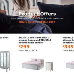 IKEA: Special Offers for IKEA FAMILY Members with Up to $224 OFF!