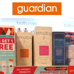 Mygen 7 Hair Fall Shampoo: FREE Trial Pack + Buy 1 Get 1 FREE Promo at Guardian!