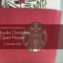 Starbucks: Enjoy 50% OFF All Christmas Drinks at Starbucks Christmas Open House!