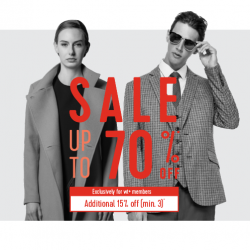 G2000: Biggest Sale of the Year with Up to 70% OFF Storewide + Extra 15% OFF for DBS/POSB Cardmembers/ wt+ members!