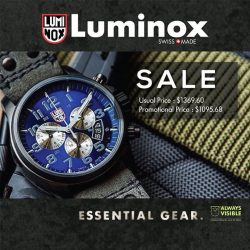 [Luminox] Time is running out… It's the last day for you to get your desired Luminox timepieces at great prices!