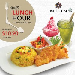 [Bali Thai] Irresistible weekday set lunch at only $10.