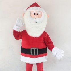 [Changi City Point] Get some Christmas warmth from our roving Santa mascot and snag a free candy cane!