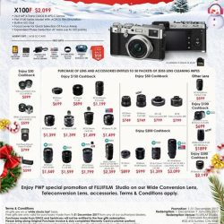 [FUJIFILM] Celebrate the most wonderful time of the year with the joy of gifting ~Check out these sparkle deals today !