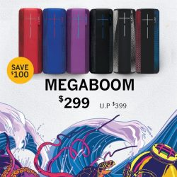 [iStudio] Save $100 off Ultimate Ears Megaboom when you get it at any iStudio SG stores.