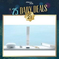 [Millenia Walk] And on Day 21 of our 25DelightfulDays, let there be light!