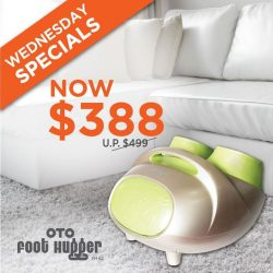 [OTO Bodycare] WEDNESDAY SPECIALS - OTO Foot Hugger at Only $388.