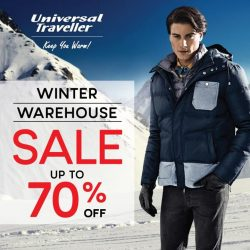 [Universal Traveller] Our warehouse sale is still on-going!