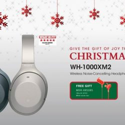 [Sony Singapore] The WH-1000XM2 - a gift of joy for a loved one who's constantly on-the-go.