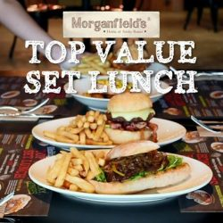 [Morganfield's] Our Set Lunch gives you plenty to choose from!