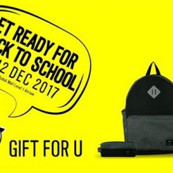 [ICON] Get ready for Back to School and Christmas Gift Early Bird Fair at BEDOK MALL Event Level 1 Atrium start