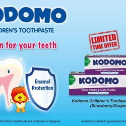 [Shaw Theatres] Celebrate this holiday with 50% extra content for Kodomo Children's Toothpaste Value Pack!