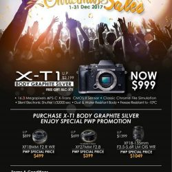 [FUJIFILM] Due to popular demand, We are bringing back X-T1 GS promo for Christmas.