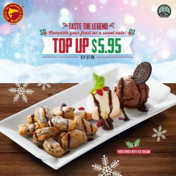 [The Manhattan FISH MARKET Singapore] Share the joy of Christmas with your friends and feast with great savings simply by flashing these e-coupons!
