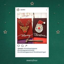 [Innisfree Singapore] The submissions for Connecting Hearts Through String Art from our customers truly warms our heart 💚  Keep working on your DIY