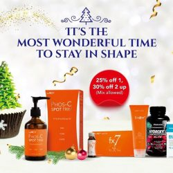 [GNC Live Well Singapore] Afraid to gain too much weight after all the Xmas food and drinks?