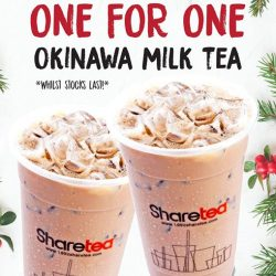 [Sharetea Singapore (歇脚亭)] 2 more days to Christmas!