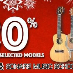 [Sonare Music School] Need ideas for Christmas gifts?