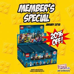 [Bricks World (LEGO Exclusive)] JANUARY MEMBER'S SPECIAL!