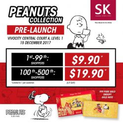 [SK Jewellery] Peanuts Collection Pre-Launch Sale is out of this world!