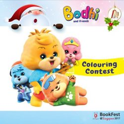 [POPULAR Bookstore] LAST CHANCE to register for the Bodhi and Friends Colouring Contest and Zumba Party at BookFest 2017 on 23 Dec!