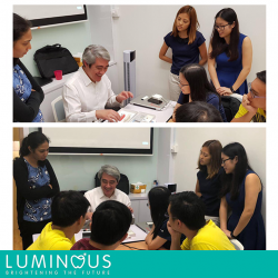 "[Luminous Dental Clinic] Our dentists had the privilege of attending an endodontic talk-cum-mini workshop , ""Surfing the Canal with Ease"", conducted by"
