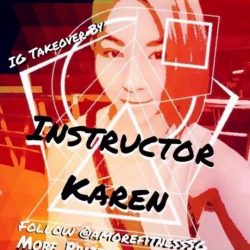 [Amore Fitness] Get inspired when our instructor, Karen starts taking over our Instagram tomorrow!
