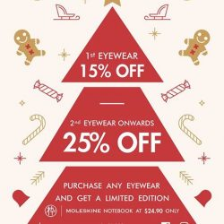 [MUJOSH] Celebrate joy and wonders of Christmas with Mujosh SingaporeEnjoy up to 25% discount on frames, sunglasses and lenses at
