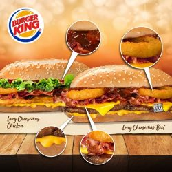[Burger King Singapore] Who needs chestnuts roasting by the open fire when you've got four Flamin' Hot Deals staying warm by the
