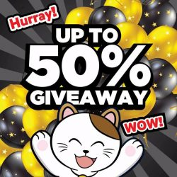 [Manekineko Karaoke Singapore] Up to 50% off vouchers to be giving away in any Karaoke Manekineko outlet.
