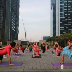 "[Platinum Yoga] For all those that has been asking, yes our ""Yoga in the City"" event is free!"