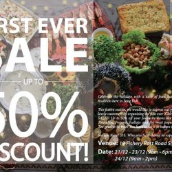 [THE SEAFOOD MARKET PLACE BY SONG FISH] 16 more days to our first ever X'MAS WAREHOUSE SALES!