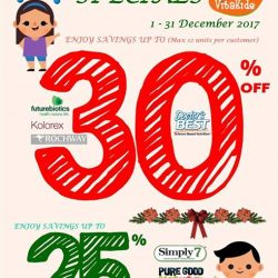 [VitaKids] 2 weeks left to shop our December Sales!