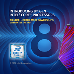 [Harvey Norman] Now till 3 December 2017 at HarveyNormanSG Millenia Walk Flagship Superstore, purchase any 8th Gen Intel® Core™ Processors above $1200