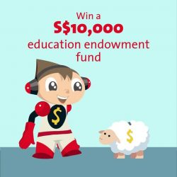 [OCBC ATM] Last giveaway of our OCBC Mighty Savers 10th Anniversary celebrations: Stand a chance to win a S$10,000 education