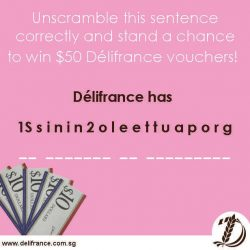 [Delifrance Singapore] Have you heard about our Instagram giveaway?