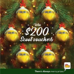 [7-Eleven Singapore] Have you submitted your entry to win $200 FlyScoot vouchers?