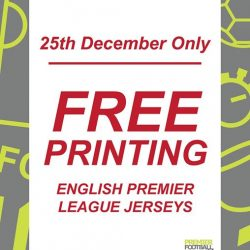 [Premier Football Singapore] FREE EPL printing with any EPL jerseys purchase at our store!